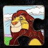 1664 - Character Connection Mystery Collection - Lion King Puzzle - Mufasa ONLY