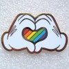 17374 - DLP - Rainbow Heart