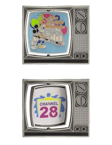 View Pin: DLR - Channel 28 - Disney Afternoon Spinner