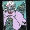 7055 - DLR - 2009 Hidden Mickey Series - Villains with Pets - Ursula