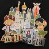17918 - Disney Its A Small World Pin - Cowboy & Hula Dancer Logo