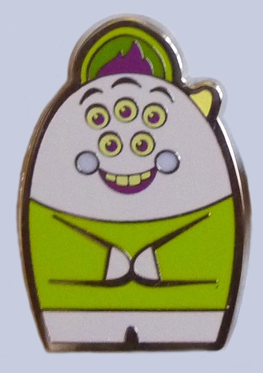 View Pin Monsters University Mystery Set Scott Squishy Squibbles Only