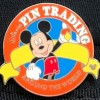 11398 - 2008 Hidden Mickey - Orange Pin Trading