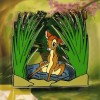 18592 - DLR/WDW - Bambi 75th Anniversary - Bambi and Faline