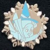 18738 - 2007 Disneyland Hotel Hidden Mickey - (Fairy Godmother Fauna) Snowflake Series