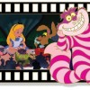 18828 - Alice in Wonderland Filmstrip Lenticular Pin