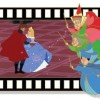 18831 - Sleeping Beauty Filmstrip Lenticular Pin