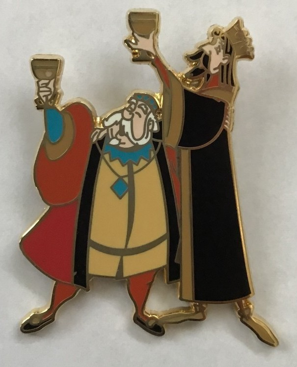 View Pin: Sleeping Beauty Booster Set - King Stefan and King