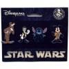 19927 - DLP Star Wars Disney Characters - Star Wars 4 Pin Booster Set