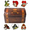 19910 - Pirates of the Caribbean - Mini Character Pin Box Set
