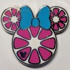 20300 - DLR - 2017 Hidden Mickey Series - Minnie Mouse Fruit Icons - Pink Grapefruit Slice COMPLETER