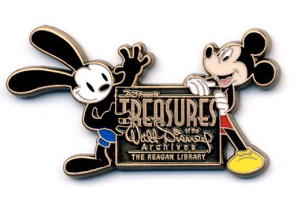 View Pin D23 Treasures Of The Walt Disney Archives Logo Pin