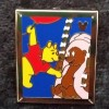1960 - DLR - 2014 Hidden Mickey Completer Pin - Winnie the Pooh and Friends – Pooh and Teddi Barra