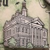 21194 - DLR - Haunted Mansion O'Pin House Easel Boxed Set - Haunted Mansion ONLY
