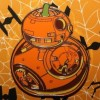 21209 - Halloween - Star Wars - BB-8 as a Pumpkin