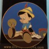 21461 - Disney Auctions - Elisabete Gomes Signature Series 6-pin set - Pinocchio and Jiminy Cricket ONLY