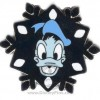 21683 - DLR - 2007 Hotel Hidden Mickey Snowflake Collection - Donald