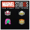22124 - Disney Movie Rewards - Marvel Studios The First Ten Years - Emoji Pin Set Issue #1