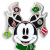 22792 - Christmas 2018 - Mickey and Minnie Mouse Holiday 2-Pin Set - Mickey Mouse ONLY