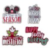 22799 - Christmas 2018 - Mickey Mouse Icon Holiday 4-Pins Set