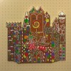 22979 - DLR - It's A Small World Holiday 2018 - Gingerbread Jumbo Pin