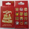 23023 - DLR - It's A Small World Holiday Mystery Pin Collection 2018 - Unopened Box