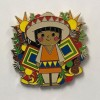 23033 - DLR - It's A Small World Holiday Mystery Pin Collection 2018 - Mexico