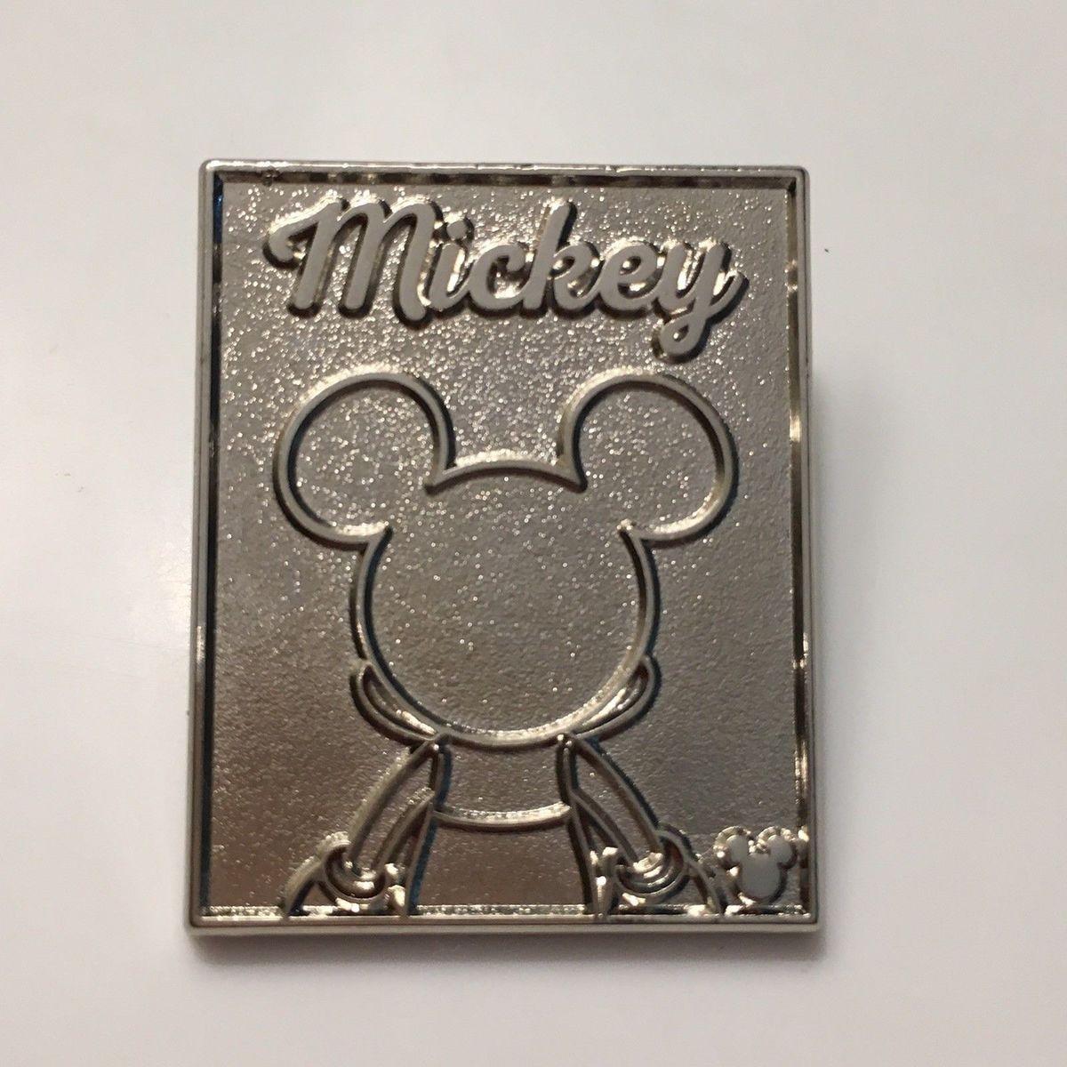 2018 DLR Hidden Mickey Back Silhouette Pluto Disney Pin