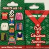 23057 - DLR/WDW - Ugly Christmas Sweater Mystery Collection 2018 - Unopened Box