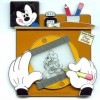 23072 - WDW - Pin of the Month - Featured Artist Series - March 2006 - Timothy Loucks - Today: Draw Mickey
