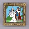 23320 - DisneyShopping.com - Wedding Princess Set of 6 Spinner Pins - Snow White and The Prince ONLY