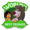 23385 - DLP - World's Best Friends - Mowgli and Baloo