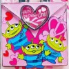 23807 - HKDL - Valentine's Day 2019 - Little Green Men Valentine's Card