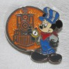 23609 - DLR - World's Biggest Mouse Party Mystery Pin Collection - Railroad Conductor Mickey ONLY