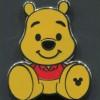 21917 - DLR/WDW - 2018 Hidden Mickey Series - Big Feet - Winnie the Pooh Completer