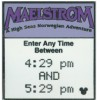 11423 - WDW - 2008 Hidden Mickey Series - FastPass Tickets - Maelstrom