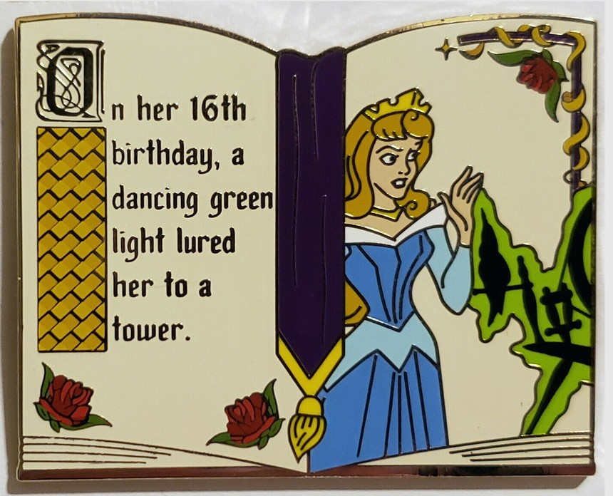View Pin: DLR/WDW - Sleeping Beauty 60th Anniversary Mystery