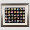 27316 - WDI - Heroine Profile Artist Proof Framed Pin Set