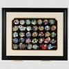 27317 - WDI - Heroes Profiles Artist Proof Framed Pin Set