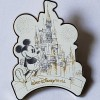 28180 - Mickey – Cinderella Castle Walt Disney World Sketch Pin