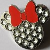 28238 - Minnie Mouse - Jeweled Icon with Red Bow