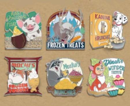 Disney WDW Fairy Tails Event Tiny Pets 6 Pin Box Set LE 250
