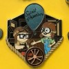 29065 - DS - Pixar Backstage - 10th Anniversary Up Bottle Cap Set - Young Carl and Ellie