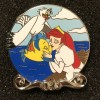 27533 - D23 2019 - The Little Mermaid 30th Anniversary 4-pin Boxed Set - Ariel, Scuttle and Flounder ONLY