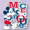 29818 - DLP - Americana - Mickey Mouse with Letters