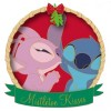 30442 - DLR - Mistletoe Kisses - Stitch and Angel