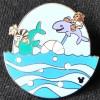 2810 - DLR - 2014 Hidden Mickey Completer Pin - MIckey's Toontown Pinwheels -Fish