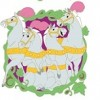 31216 - DLR/WDW - Cinderella 70th Anniversary Mystery Collection - Four Carriage Horses