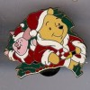 31635 - DS - 12 Months of Magic Christmas Wreath Series - Pooh and Piglet