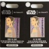 32356 - Disney Parks - Star Wars - Share the Force, Use the Force Pin Set - Rey